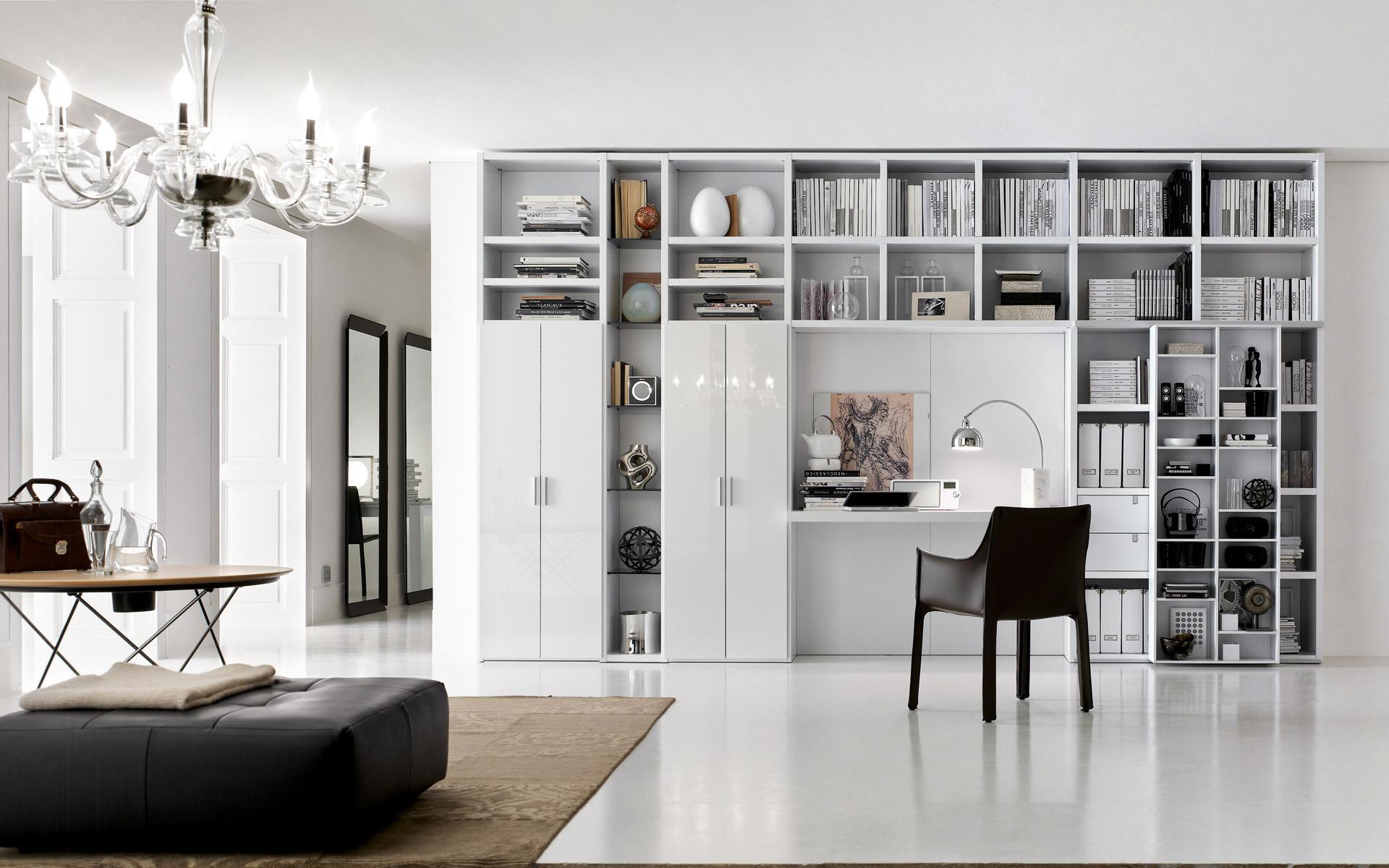 soggiorno-libreria-santa-lucia-rv004-arredamento-padova-rovigo ...